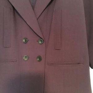 Nordstrom brand plum jacket
